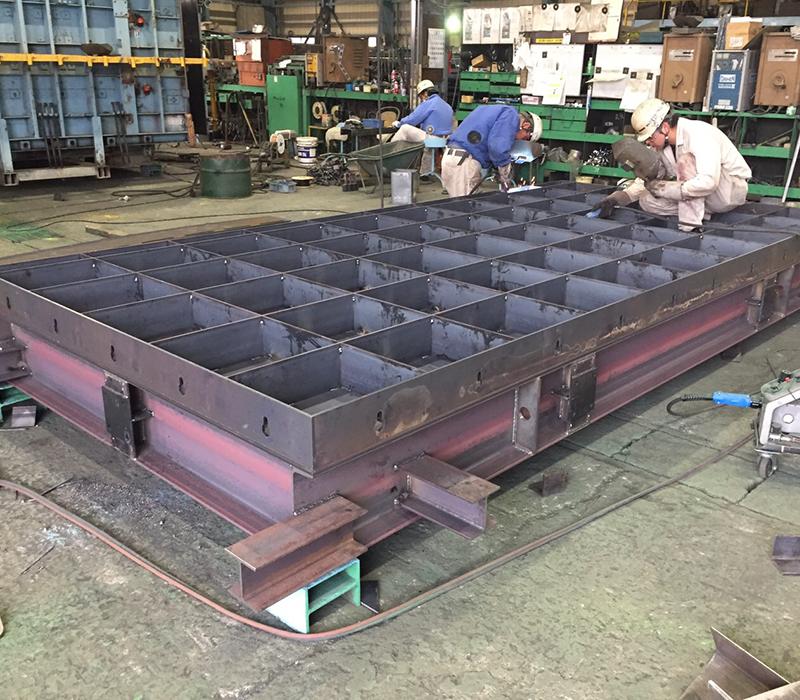 鋼製型枠の設計・製造・販売なら株式会社 熊谷鉄工にお任せください
